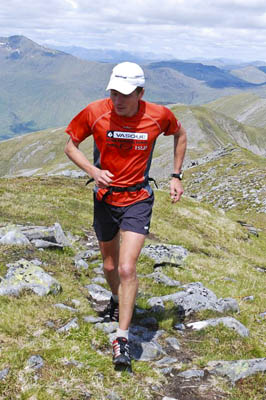 Steve Pyke's during his munro-record attempt