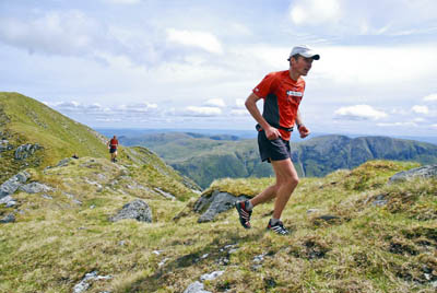 Spyke during his aborted 2008 munro attempt. Photo: Chris Upson
