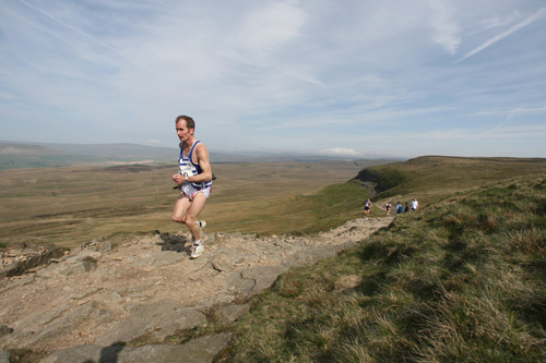 Ian Holmes of Bingley Harriers will face a challenge for top veteran