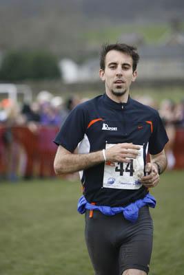 Mitja Kosovelj, top overseas mountain runner in third place