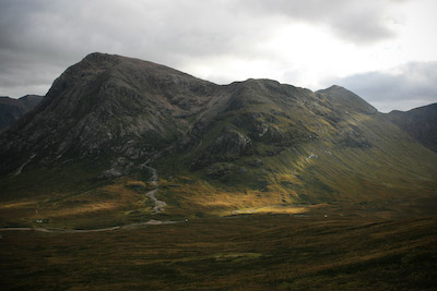 Buachaille Etive Mòr, seen from the Devil's Staircase