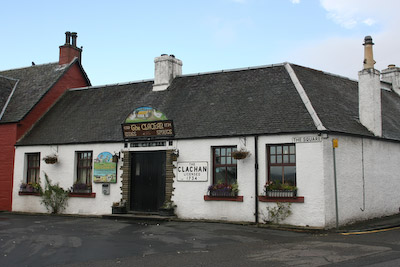 The Clachan, Drymen, reputedly Scotland's oldest pub, its licence granted in 1734