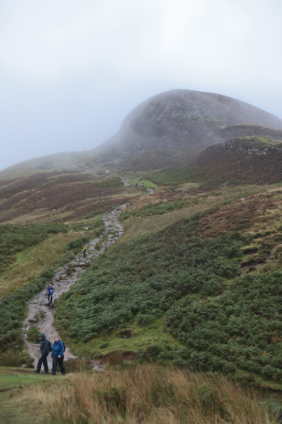 Conic Hill, the first workout for legs and lungs