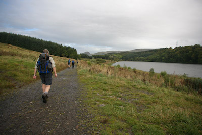 Craigallian Loch, 5km from the start of the way