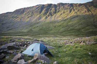 Wild camping in England: still against the law