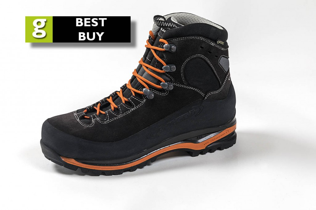The AKU Superalp GTX is rated a best buy. Photo: Bob Smith/grough