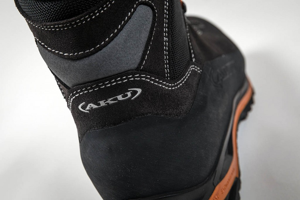 The ankle has a flex section to increase comfort. Photo: Bob Smith/grough