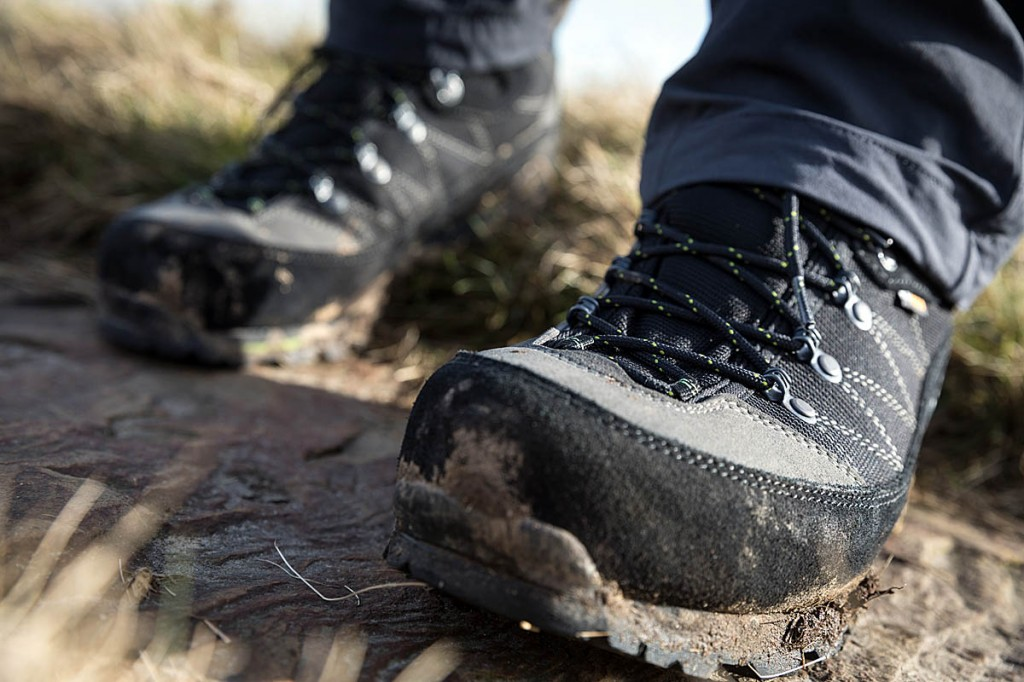 The AKU boots in action. Photo: Bob Smith/grough