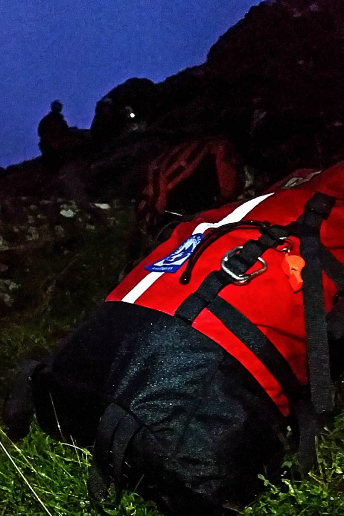 Rescuers were unable to use smartphone technology to find the lost pair. Photo: Aberdyfi SRT