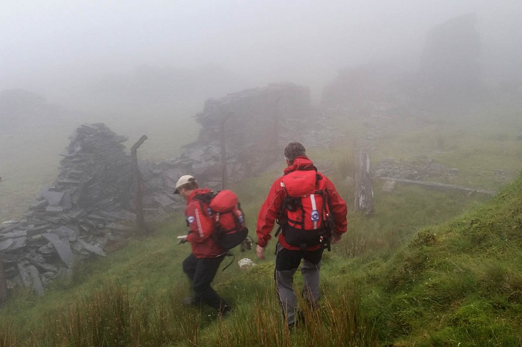 Rescuers had little information to go on during their search. Photo: Aberdyfi SRT