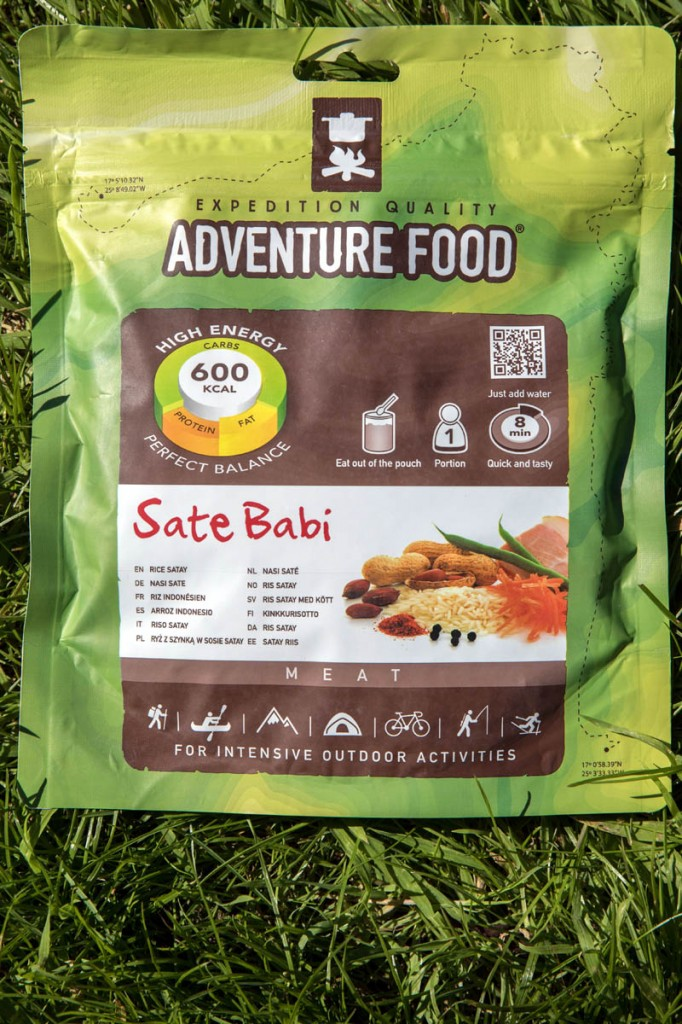 Adventure Food Rice Satay (Sate Babi)