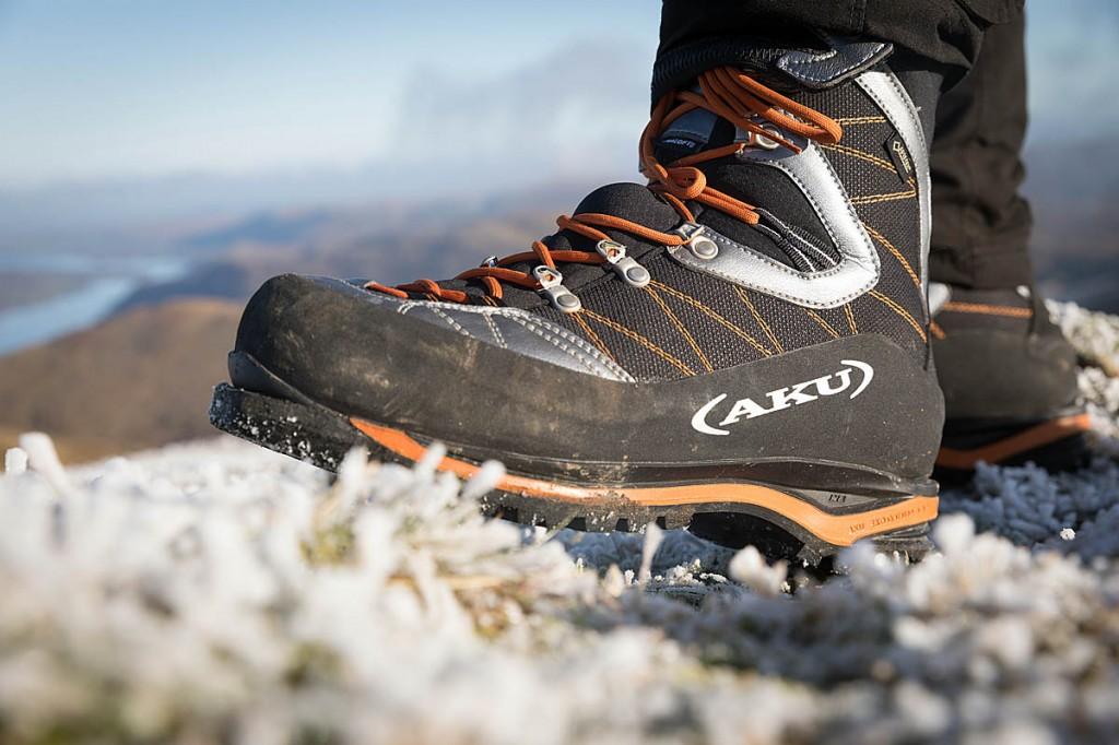 The Serai coped well with frozen terrain. Photo: Bob Smith/grough