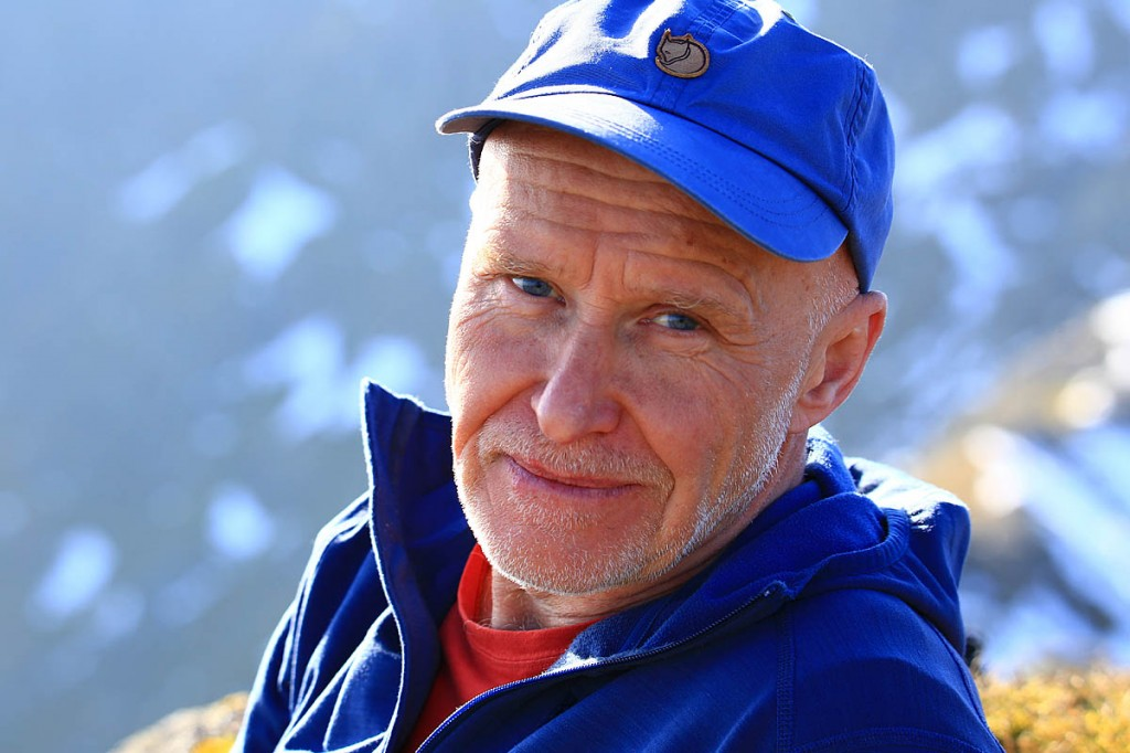 Alan Hinkes. Photo: Terry Abraham