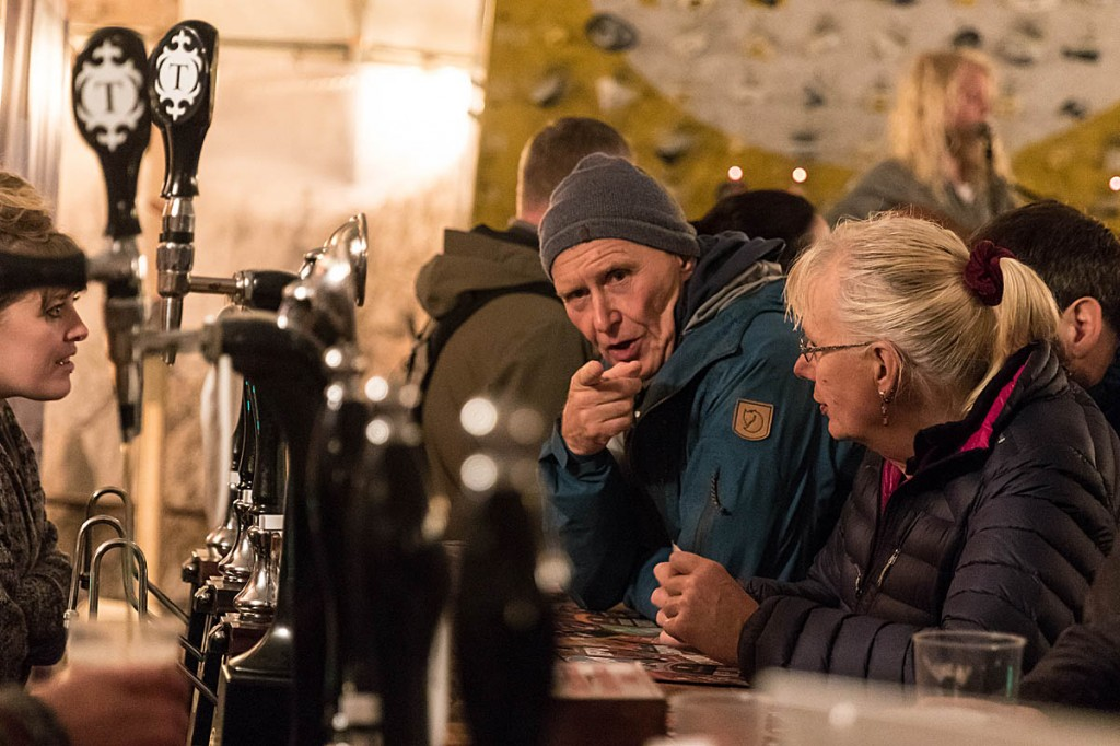 Real ale is another interest of Hinkes. Photo: Bob Smith/grough