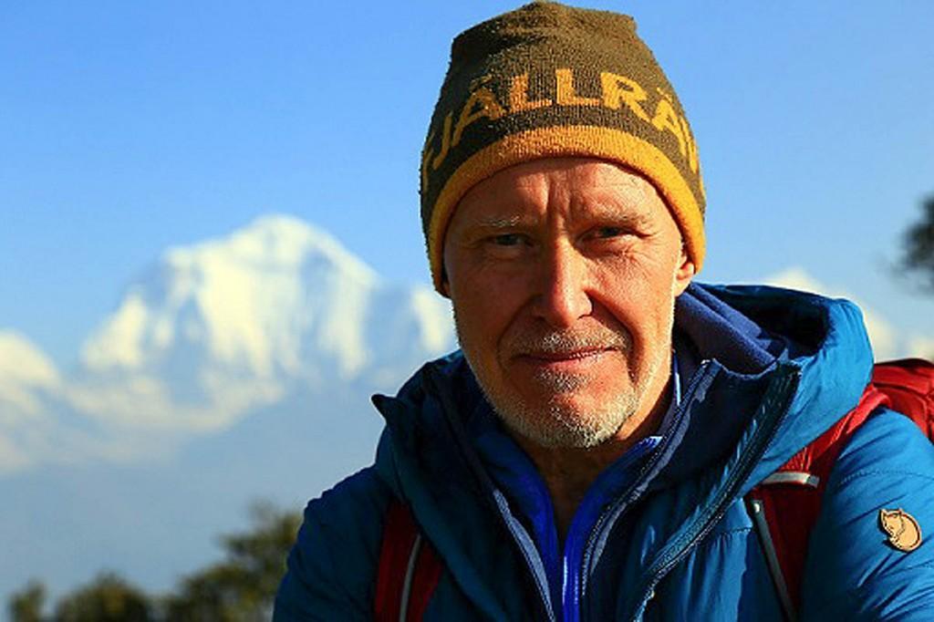 Alan Hinkes in Nepal