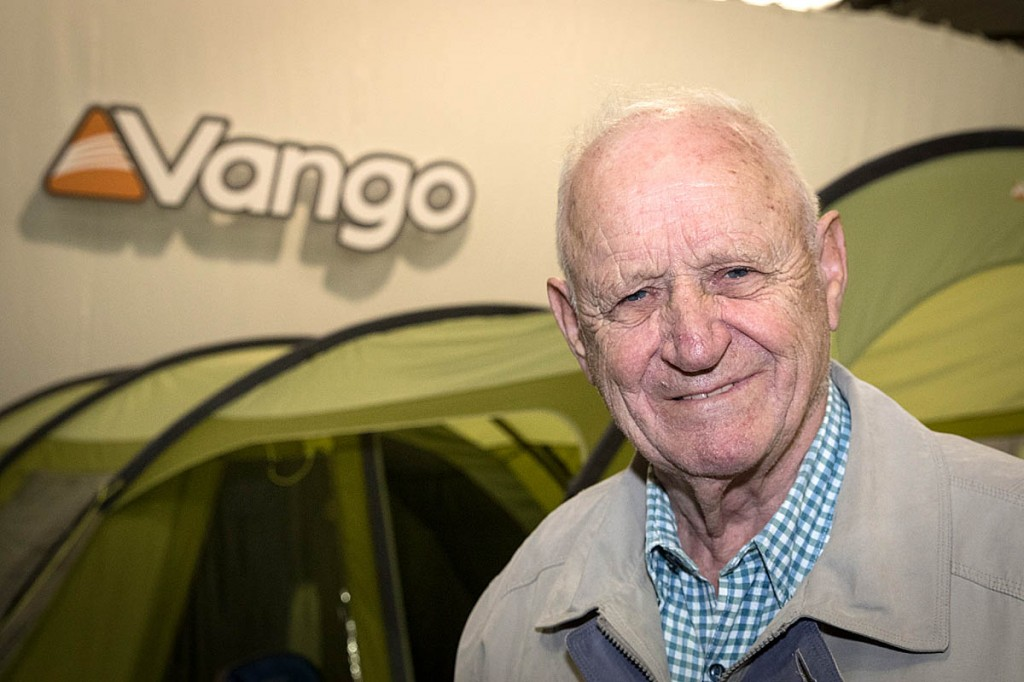 Vango founder Alastair Moodie Snr, who has died after a short illness. Photo: Bob Smith/grough