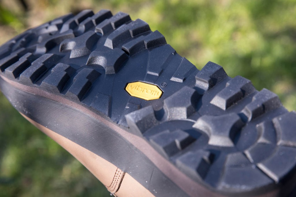 The Keld's outsole. Photo: Bob Smith/grough