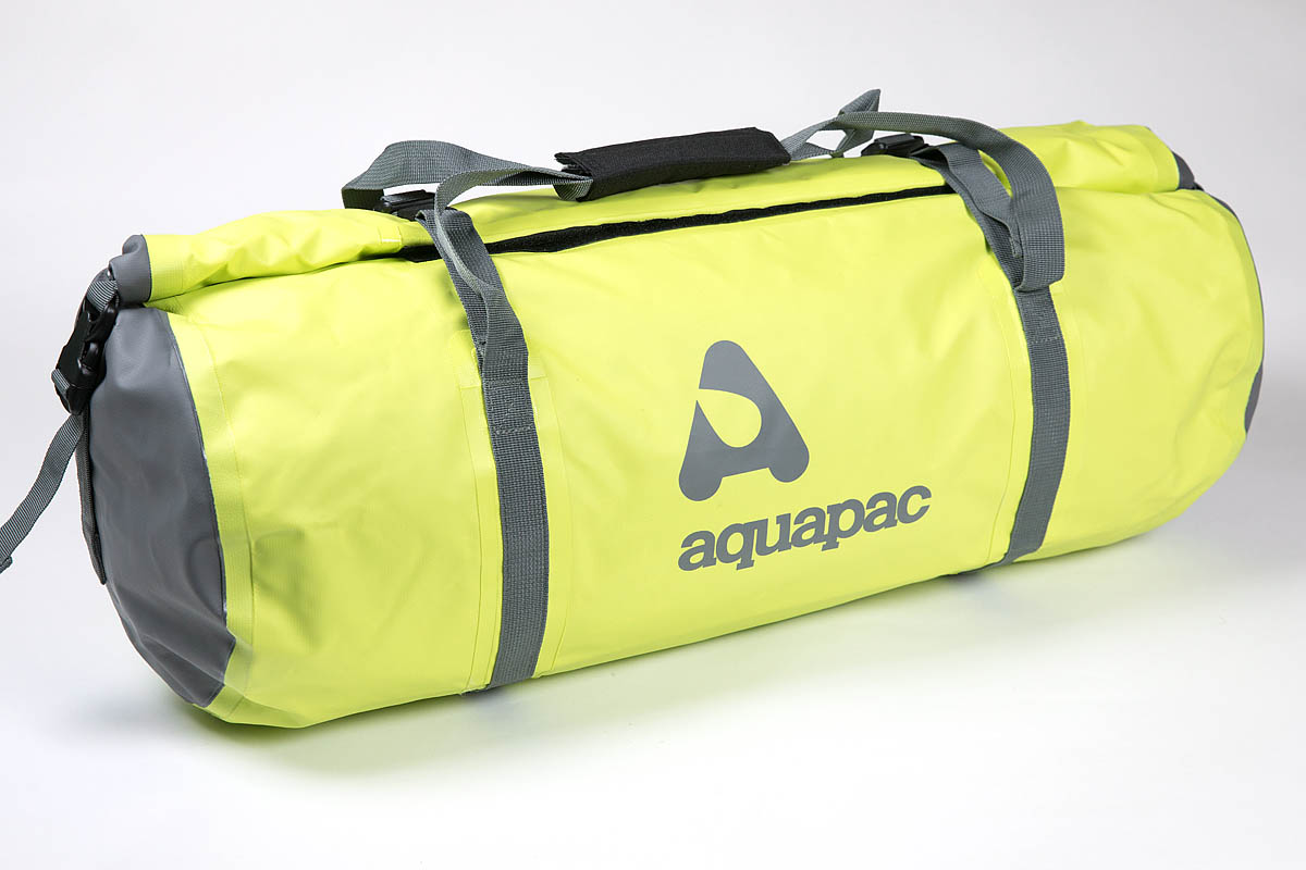 Aquapac TrailProof Duffel 40L Price  £44.99. Colour  green grey. Weight   754g. Stated capacity  40 litres. Country of manufacture  China 480f2f1835182