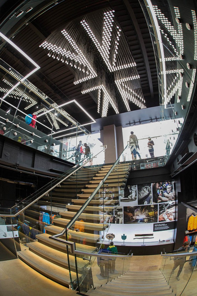 The new Arc'teryx London store