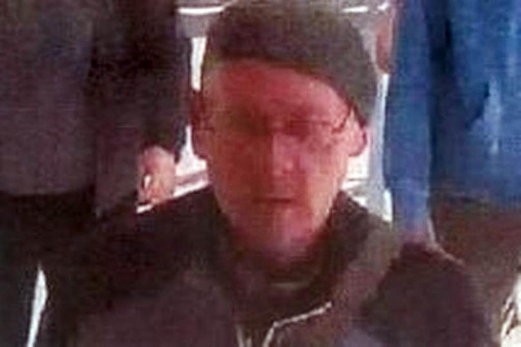 Mr Tomarenko was seen on CCTV