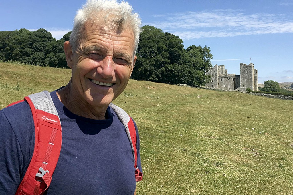 Paul Rose in Wensleydale. Photo: BBC