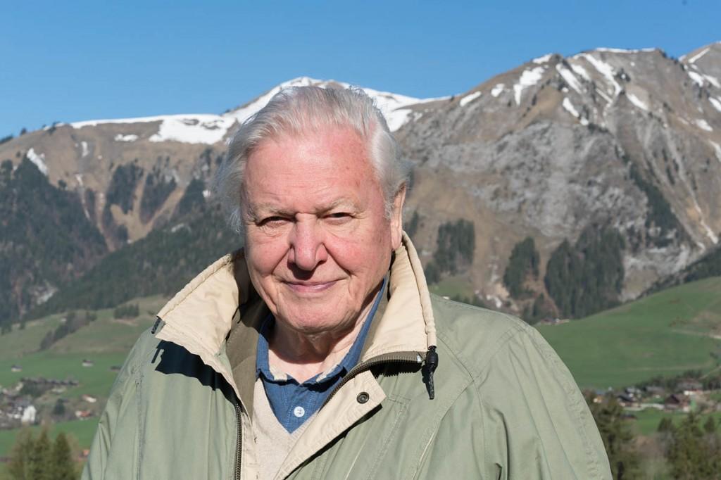 Sir David Attenborough. Photo: Ruth Peacey/BBC