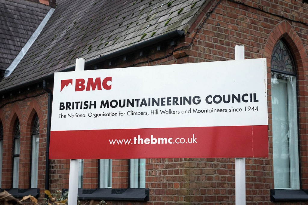 The British Mountaineering Council's headquarters in Manchester. Photo: Bob Smith/grough