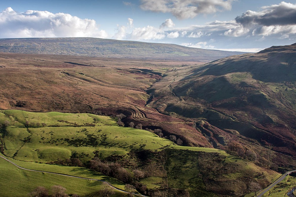 The woman injured herself on Barbon Low Fell, above Blind Beck Bridge. Photo: Bob Smith/grough