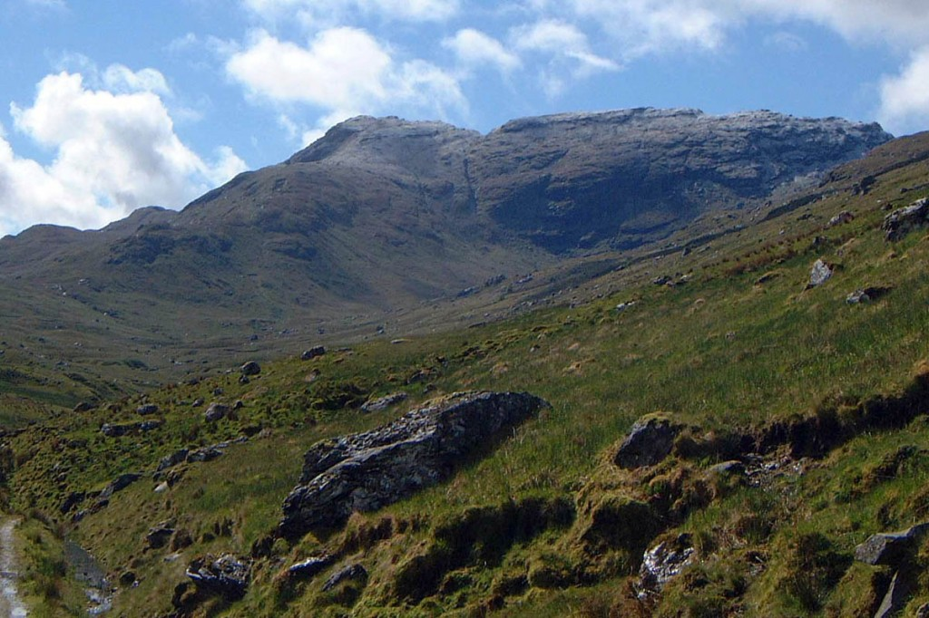 The pair travelled from Glasgow to ascend Beinn a' Chroin. Photo: Mick Knapton CC-BY-SA-3.0