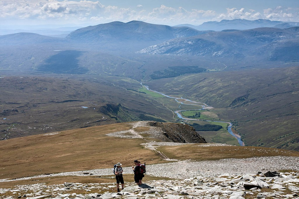 Walkers on Ben Hope, Scotland's most northerly munro. Photo: Bob Smith/grough