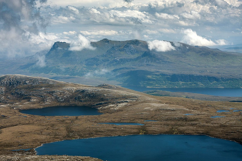 Mr Campbell's car was found neaer Ben Loyal, Sutherland. Photo: Bob Smith/grough