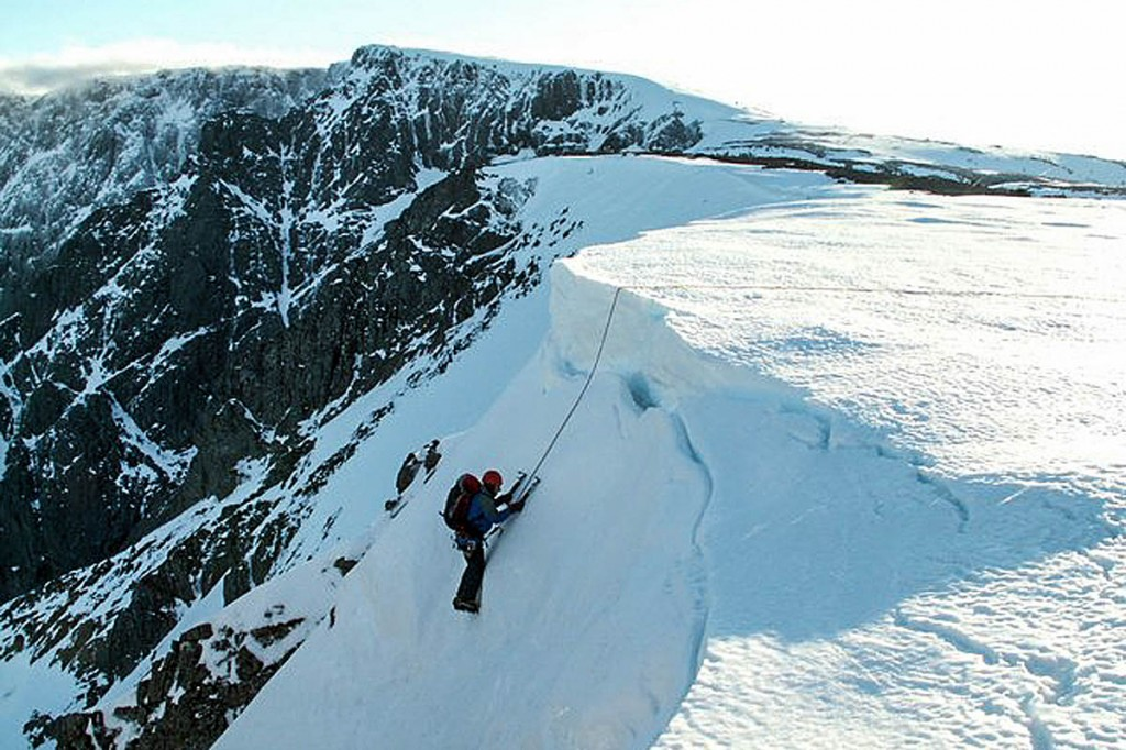 The avlanche happened in Number Five Gully on Ben Nevis. Photo: John Fielding CC-BY-SA-2.0