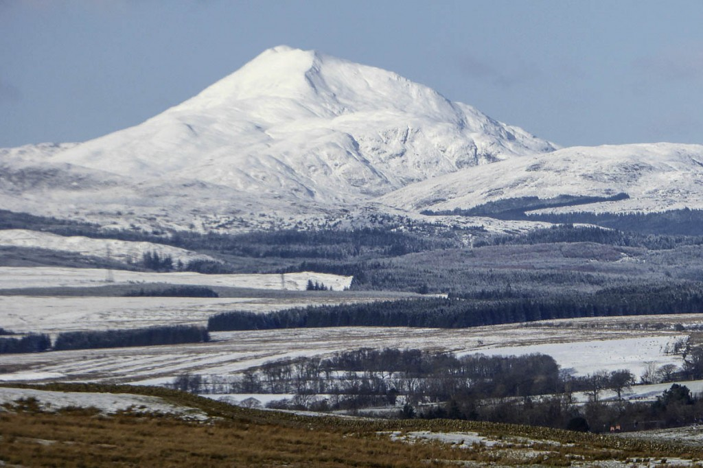 The man's body was recovered from Ben Lomond. Photo: Alan O'Dowd CC-BY-SA-2.0
