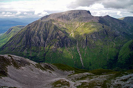 The woman walked off the summit into Coire Eòghainn. Photo: Blisco CC-BY-SA-3.0