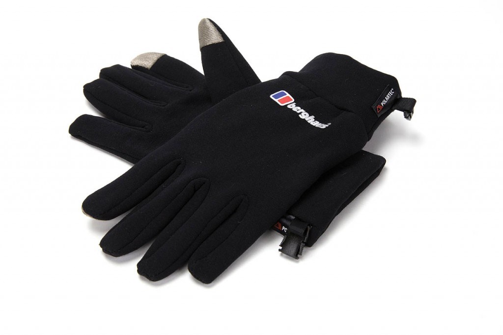 Berghaus Touch Screen Glove. Photo: Bob Smith/grough