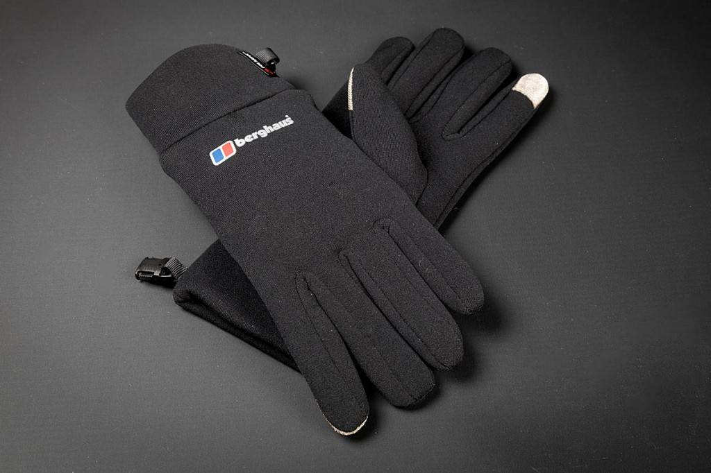 Berghaus Touch Screen Glove. Photo: Bob Smith/grough