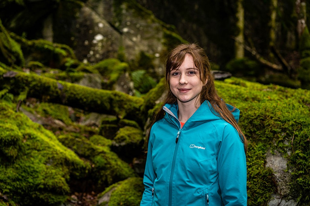 Anna Taylor. Photo: Berghaus