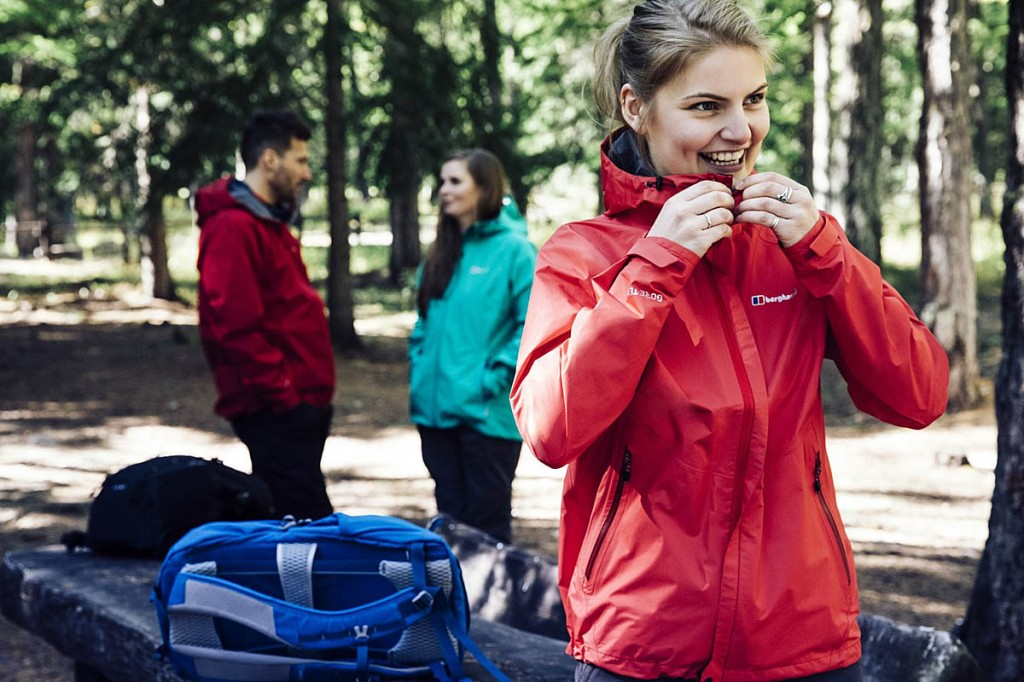 The new Berghaus Paclite jackets use Madekind fabrics