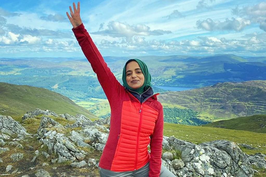 Zahrah Mahmood, the Hillwalking Hijabi