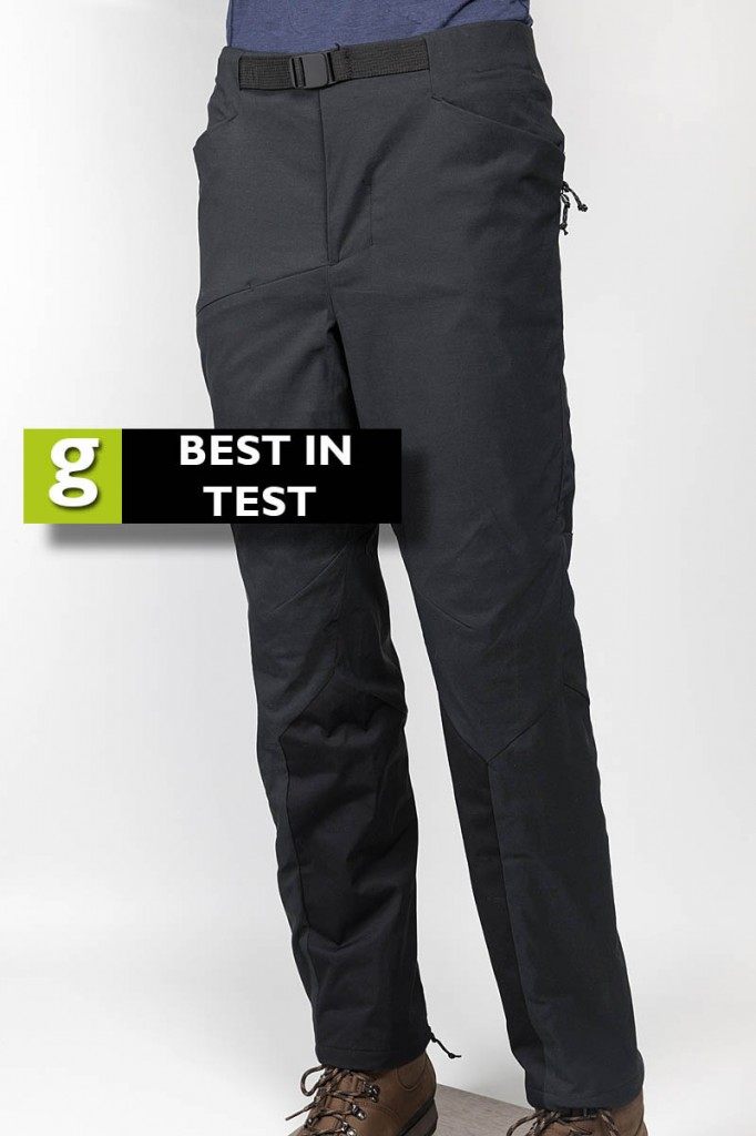 Berghaus Winter Fast Hike Pant. Photo: Bob Smith/grough
