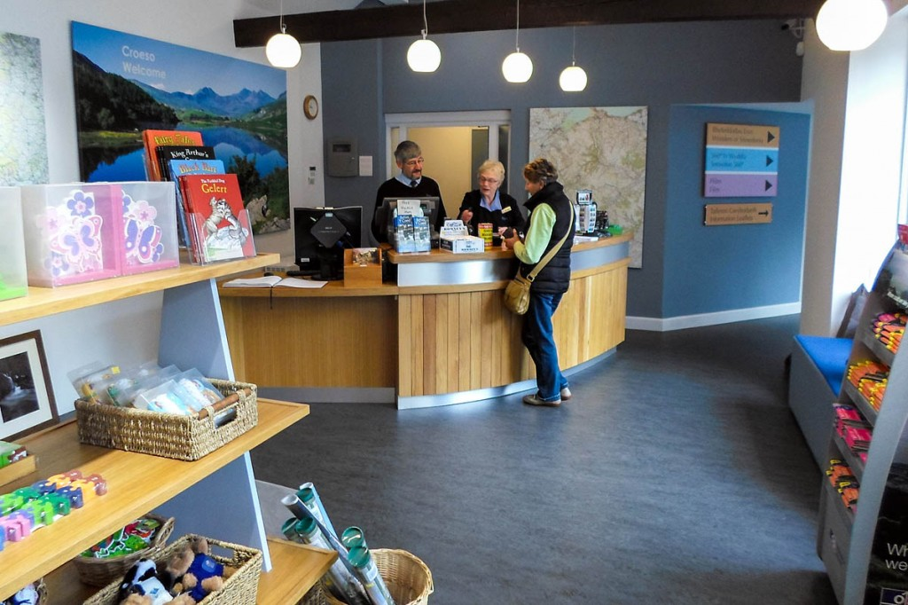 §The Betws y Coed information centre will be the only one open all year round. Photo: Snowdonia NPA