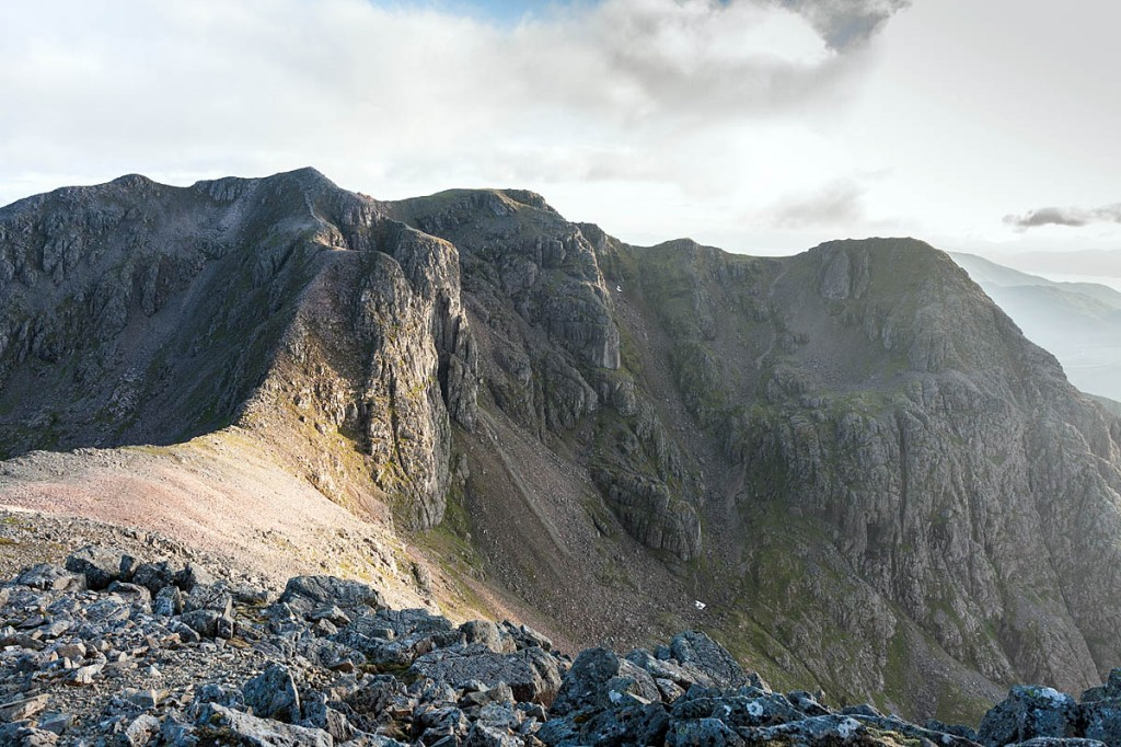 Bidean nam Bian and Stob Coire nam Beith are among the peaks being searched