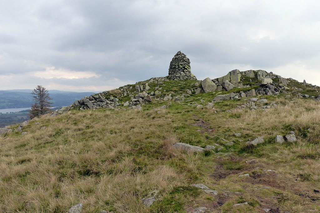 The man fell near the summit of Black Crag. Photo: Anthony Foster CC-BY-SA-2.0