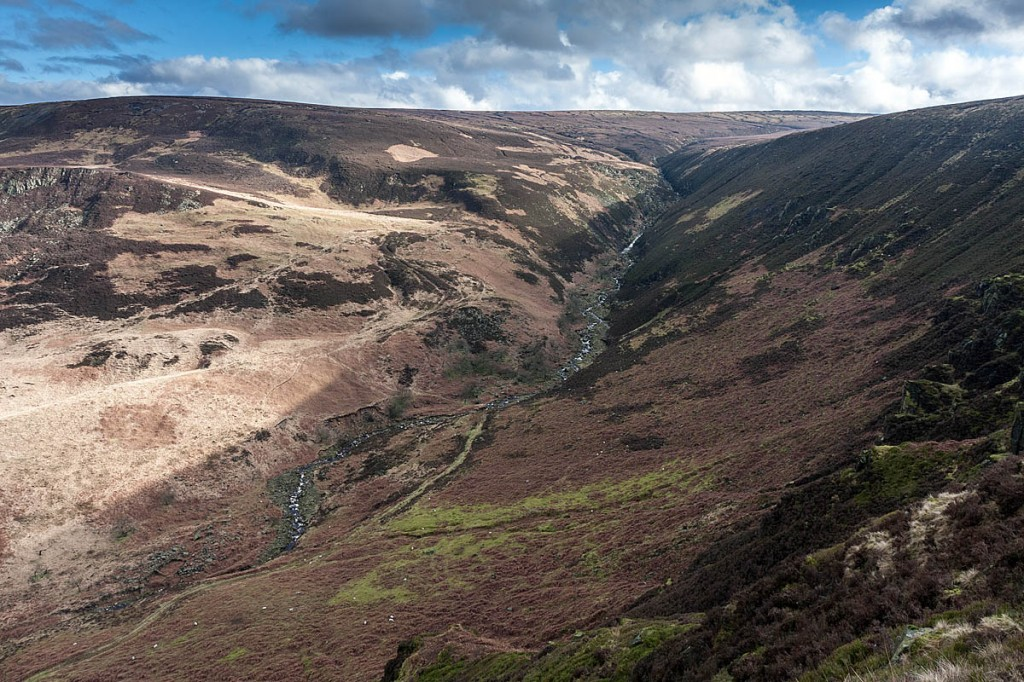Torside Clough, scene of the rescue. Photo: Bob Smith/grough