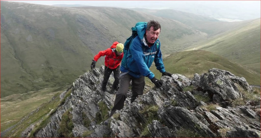 Stuart Maconie and Ed Byrne have an 'interesting' day on Sharp Edge in the film