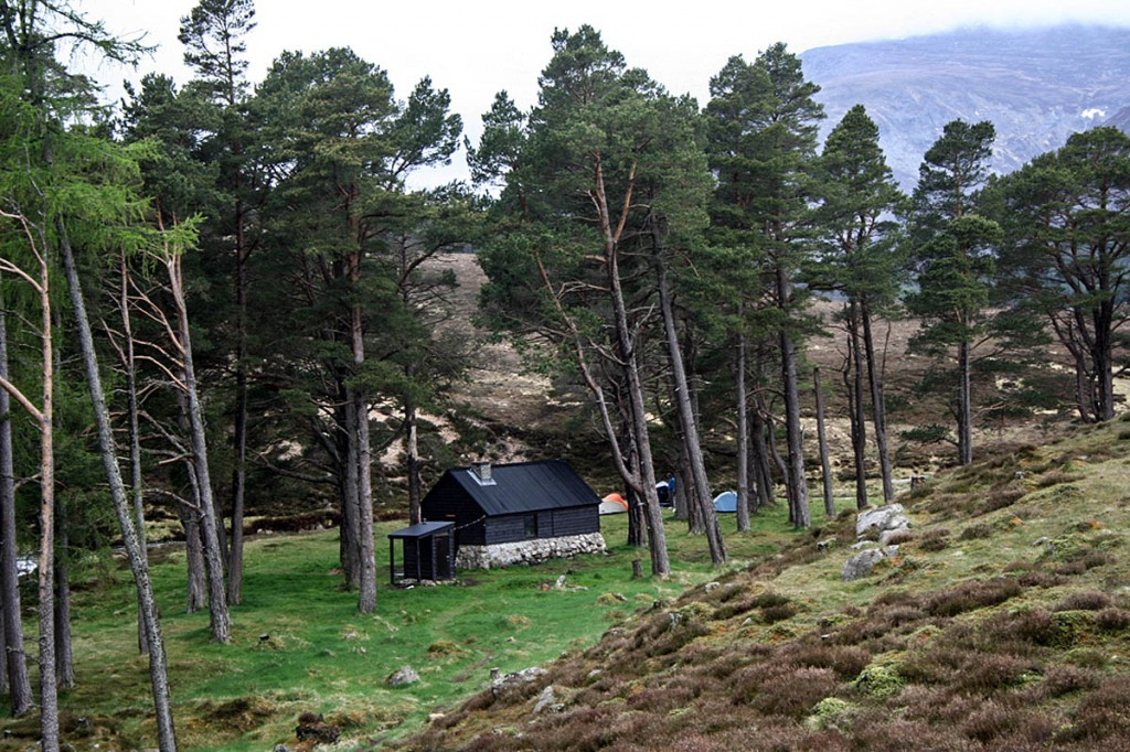Mr Robertson is believed to have stayed at Bob Scott's Bothy. Photo: Nic Bullivant CC-BY-SA-2.0