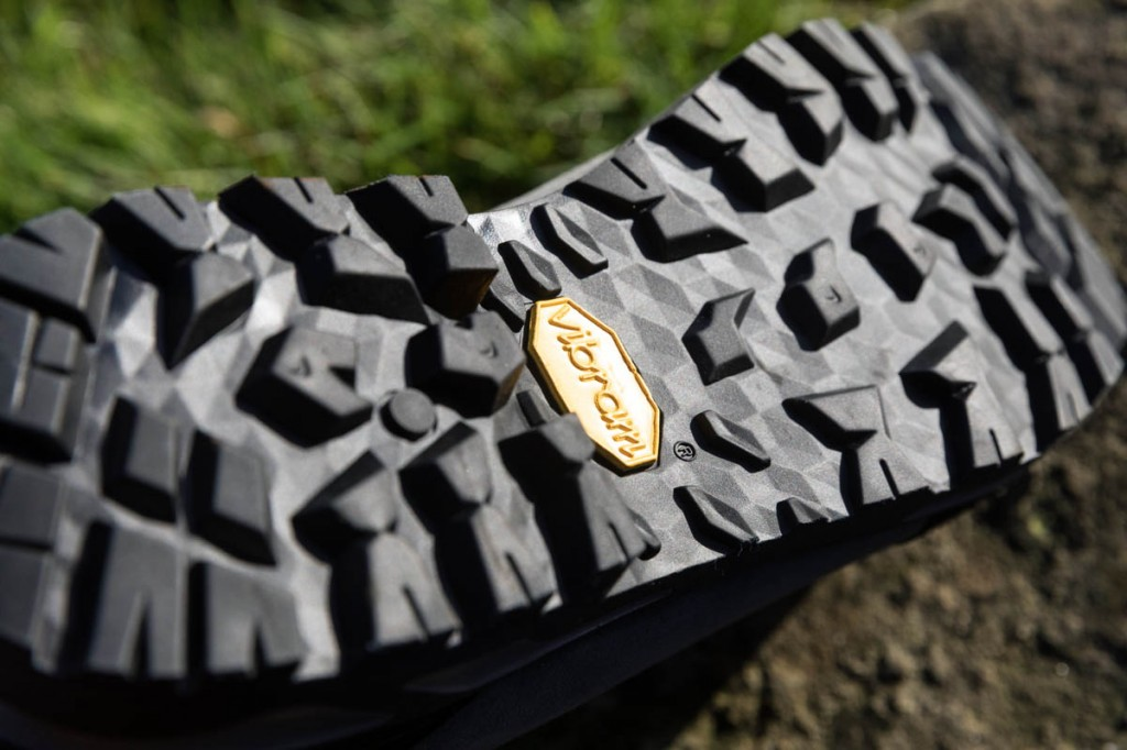 The Mazama outsole. Photo: Bob Smith/grough