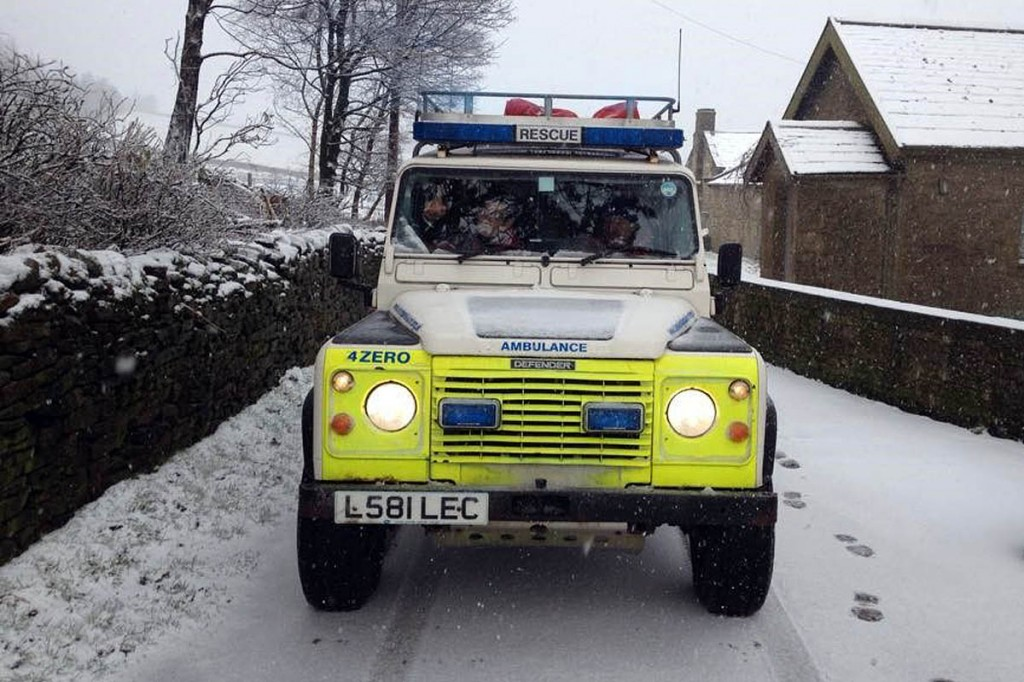 The Bowland Pennine team was called out several times during the wintry weather of 2010