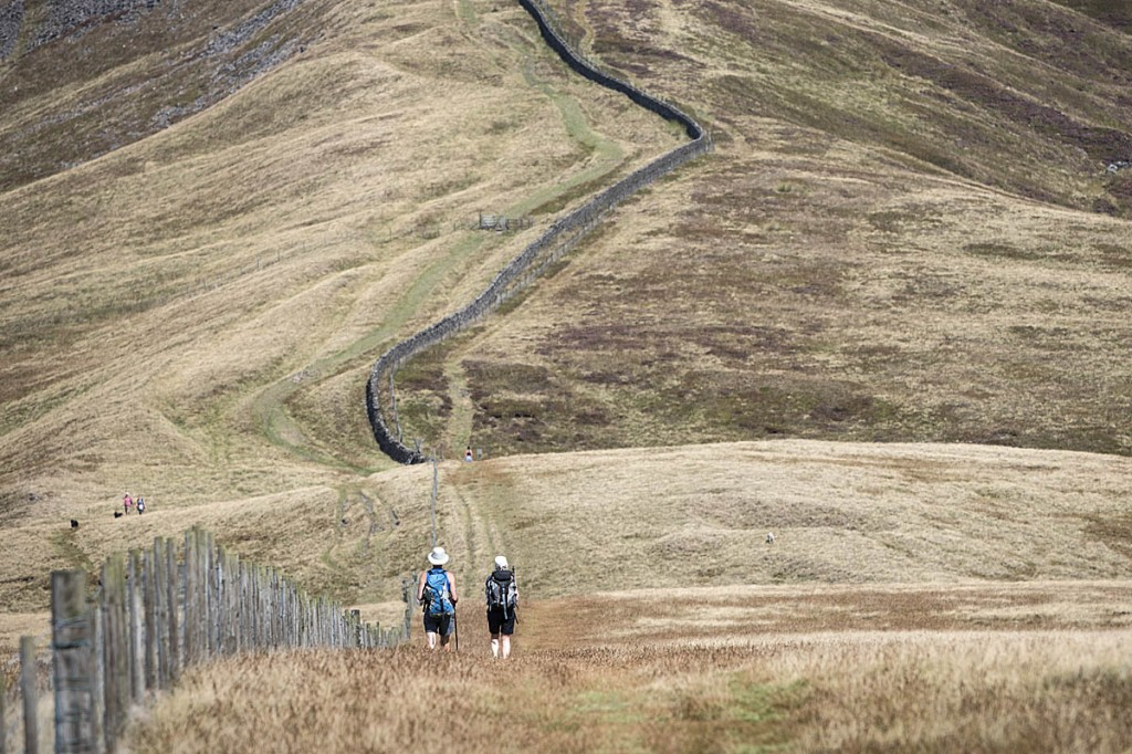 Hillwalking needs to be put on hold, the BMC said. Photo: Bob Smith/grough