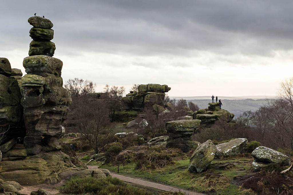 The incident happened at Brimham Rocks in North Yorkshire. Photo: Bob Smith/grough